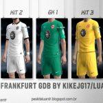 کیت پک تیم Eintracht Frankfurt برای PES 2013