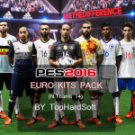 کیت پک یورو 2016 برای pes2016