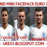 مینی فیس پک انگلیس در یورو 2016 برای PES2013