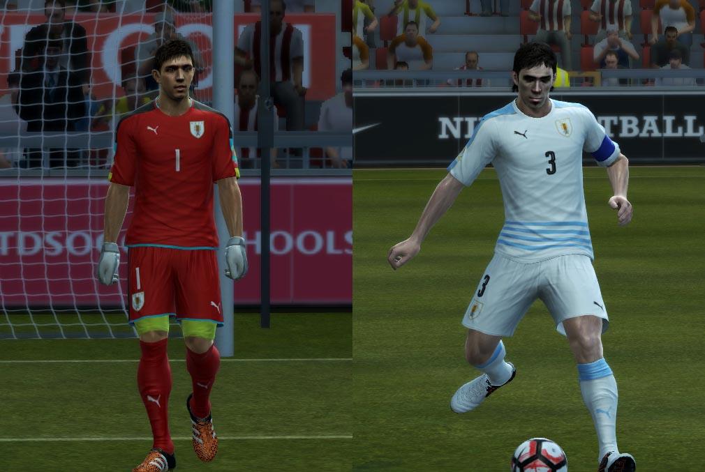 کیت جدید تیم اروگوئه در کوپا امریکا برای PES 2013