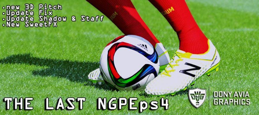 پچ گرافیکی جدیدNGPEps4 ورژن 3 برای PES 2016
