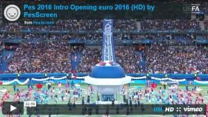 اینترو افتتاحیه یورو2016 برای PES2016