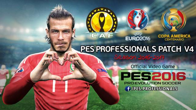 پچ  Professionals Patch  ورژن 4 ( All In One ) برای PES 2016 (آموزش ویدیویی قرار گرفت)