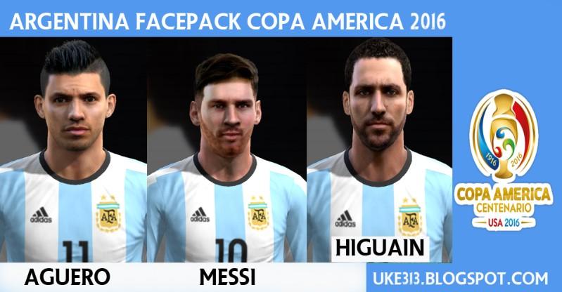 مینی فیس پک آرژانتین برای PES2013