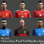 فیس پک یورو 2016 برای PES2013