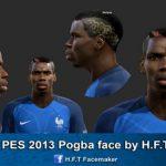 فیس جدید پل پوگبا برای PES2013