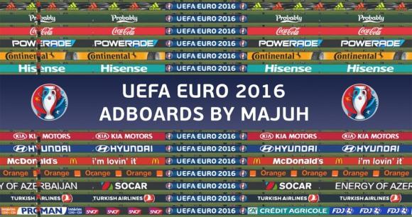 آپدیت تابلو تبلیغاتی یورو 2016 برای PES 2016