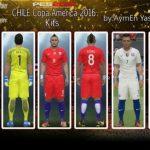 کیت تیم ملی شیلی در کوپا آمریکا برای PES2016