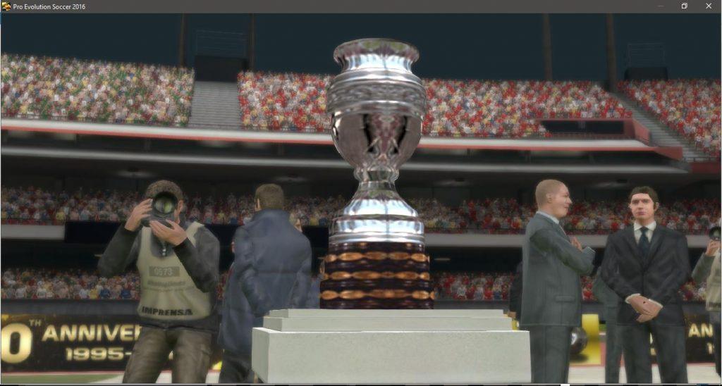 جام کوپا آمریکا برای PES2016