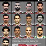 فیس پک تیم ملی مصر برای PES2016