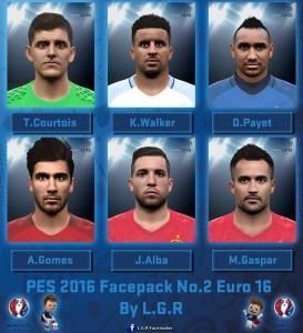 فیس پک یورو 2016 برای PES2016