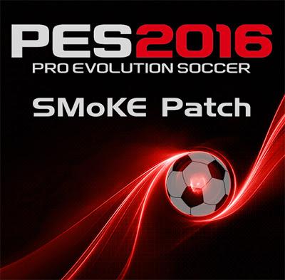 آپدیت جدید پچ 4.SMoKE v8.3 برای PES 2016