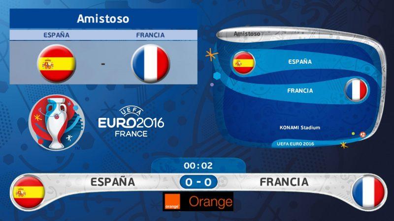 لوگوی 3D یورو 2016 برای PES 2016