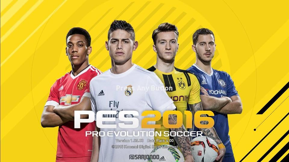 دانلود منو گرافیکی FIFA 17 برای Pes 2016