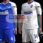 دانلود PES 2013 Barnsley, Derby Country, Ipswich Town Kits 16-17