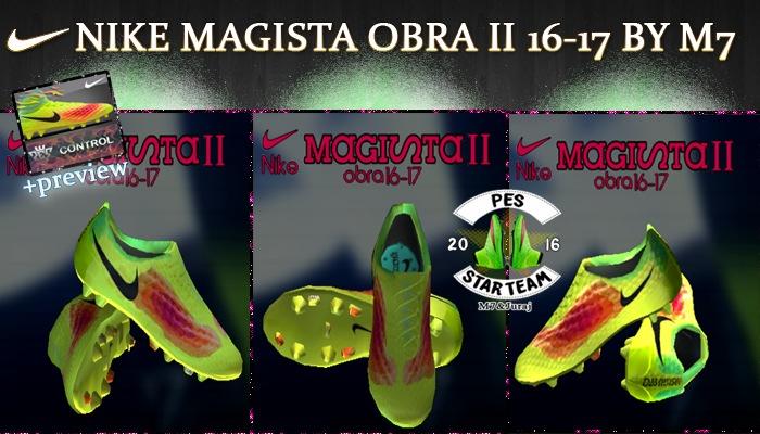 دانلود کفش Nike Magista Obra II 16-17 برای Pes 2013