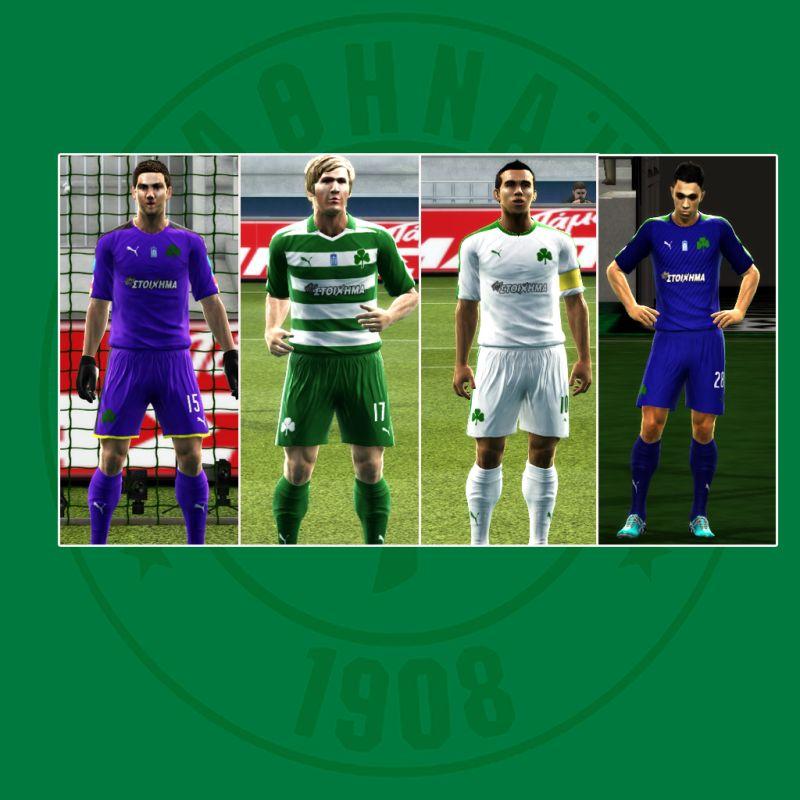 PES 2013 Panathinaikos 2016-17 Kits