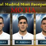 مینی فیس پک رئال مادرید برای PES 2016
