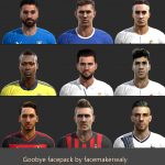 دانلود PES 2013 Goodbye Face Pack