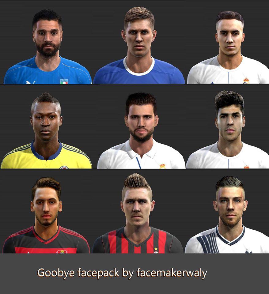 دانلود PES 2013 Goodbye Face Pack