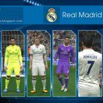 کیت پک رئال مادرید 2016/17 برای Pes 2016