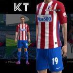 دانلود کیت پک کامل تیم اتلتیکو مادرید فصل 2016/17 برای Pes 2013