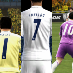 کیت پک رئال مادرید2016/17 برای Pes 2013(فونت و شماره جدید)