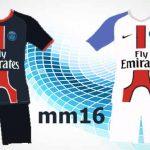 کیت جدید تیم PSG  برای PES 2016