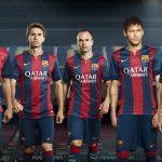 کیت پک 2014/15 بارسلونا برای PES 2016