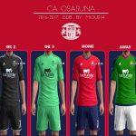 کیت پک تیم CA Osasuna فصل 2016/17 برای Pes 2013