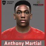 فیس بازیکن Anthony Martial برای Pes 2016