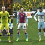 کیت پک کامل تیم Aston Villa فصل 2016/17 برای Pes 2013