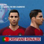 فیس C. Ronaldo در یورو 2016 برای Pes 2006