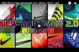 پک کفش 2016/17 برای PES 2013 (شامل 100 کفش!)