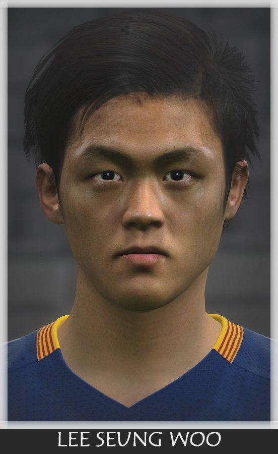 فیس(Lee Seung Woo (Barcelona برای PES 2016