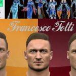 فیس پک Francesco Totti برای Pes 2016
