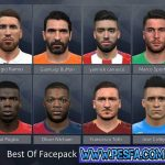 Best Of Facepack 2017 برای PES 2017