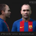 فیس جدید آندرس اینیستا برای PES2010