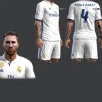 فیس جدید بازیکن Ramos برای Pes 2013