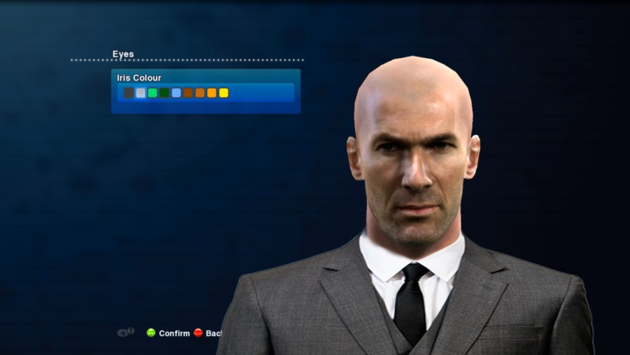 PES 2013 Zidane (Real Madrid Manager) Face