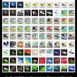 پک فوق العاده کفش 100 تایی v6 برای PES 2016