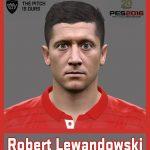 فیس جدید Robert Lewandowski برای Pes 2016