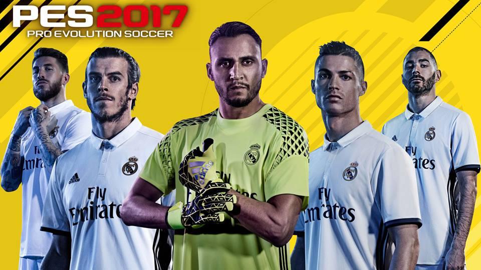تایتل تیم رئال مادرید نسخه Pes 2017 برای Pes 2016