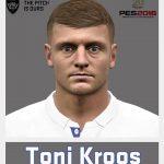فیس Toni Kroos برای Pes 2016