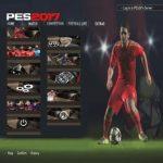 منو گرافیکی بازی Pes 2017 برای Pes 2006