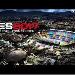 منو گرافیکی PES 2017 تیم بارسلونا برای Pes 2016