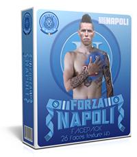 فیس پک Forza Napoli برای PES 2016