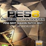 پچ کم حجم 2016/17 Next Season برای PES 6