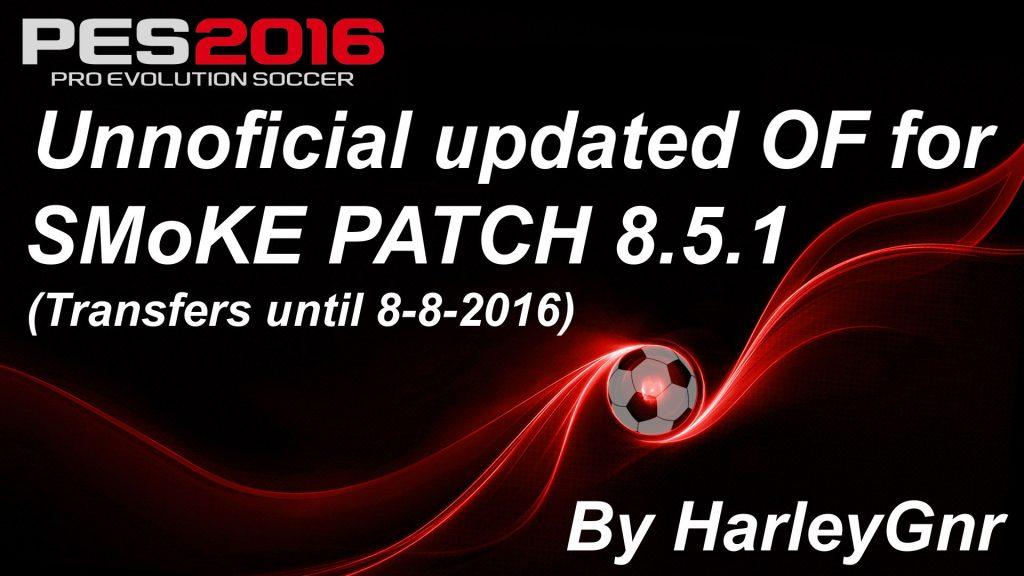 آپدیت غیر رسمی SMoKE Patch 8.5.1