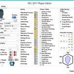 نرم افزار Player Editor 1.1 برای Pes2017